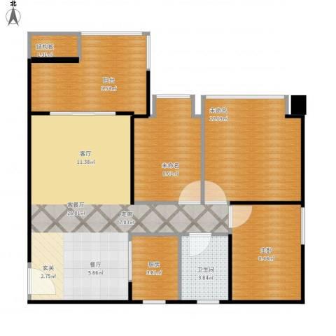 DADA的草地1室1厅1卫1厨100.00㎡户型图