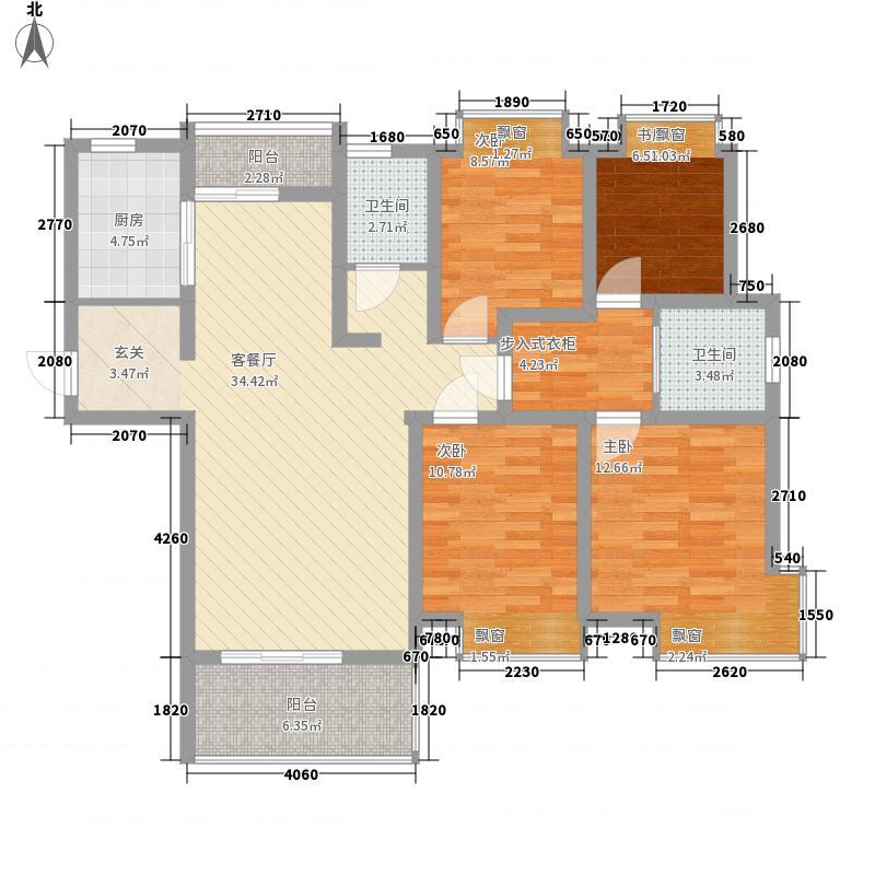 嘉华・御湖苑3-4号楼C2户型