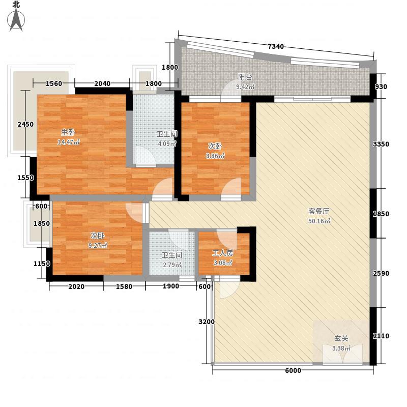 银枫雅舍户型4室