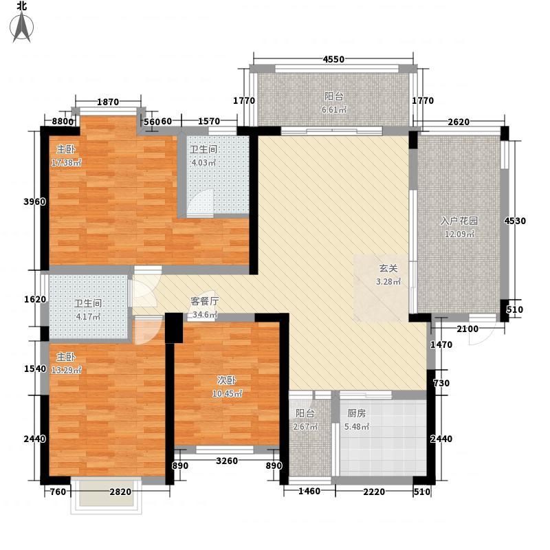 景翠名都139.50㎡景翠名都户型图三房二厅二卫139.5㎡3室2厅2卫户型3室2厅2卫