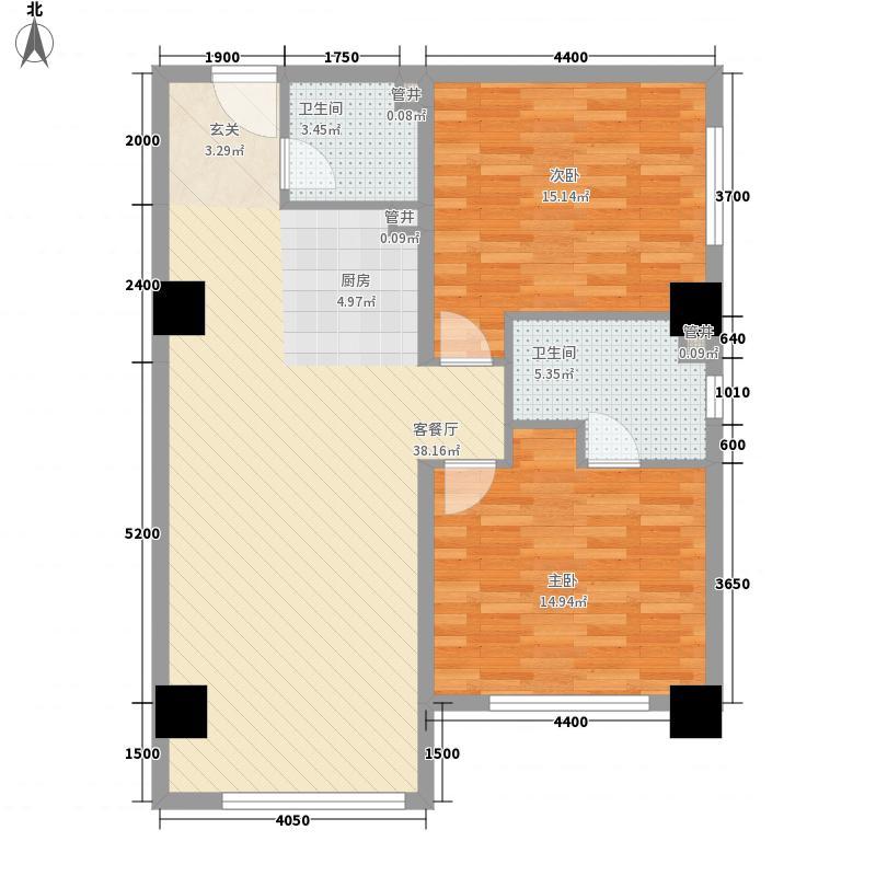 梅苑温泉小区户型2室