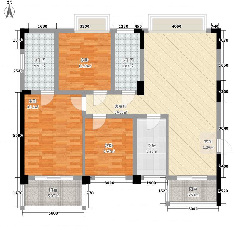 信和苑户型3室