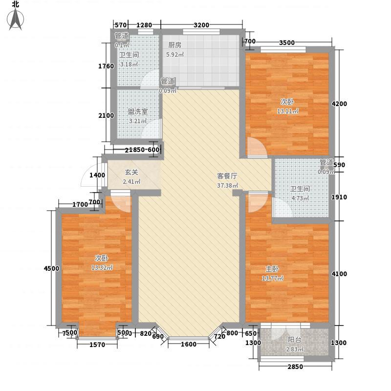 上夼西路户型3室