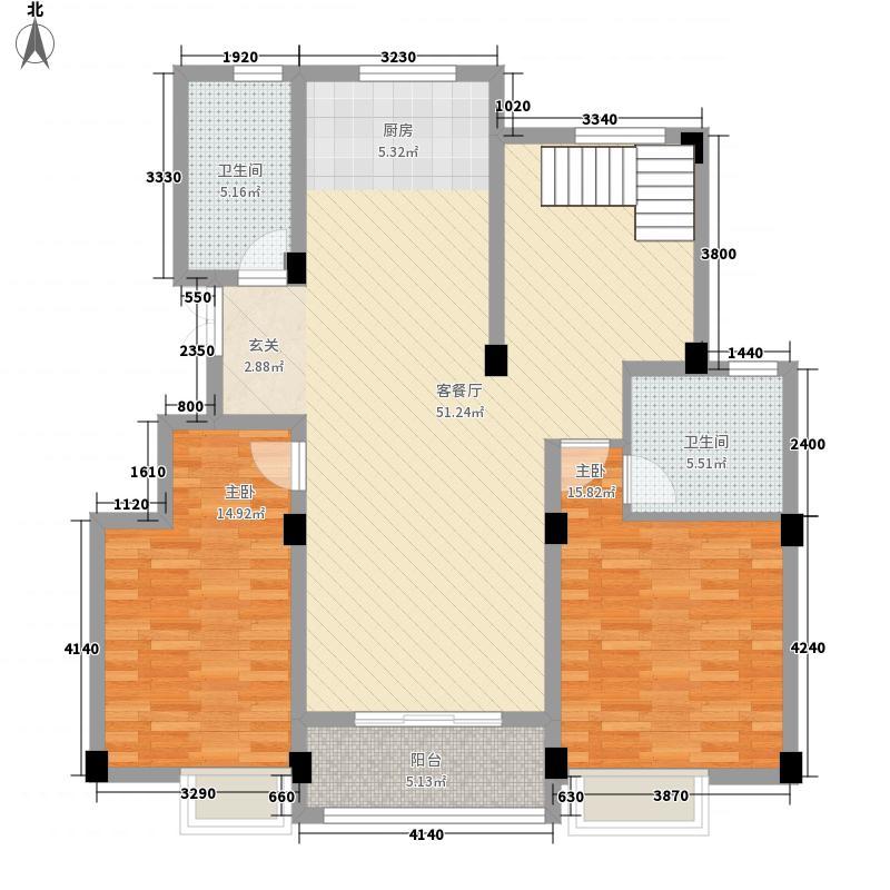 美菱新村户型2室