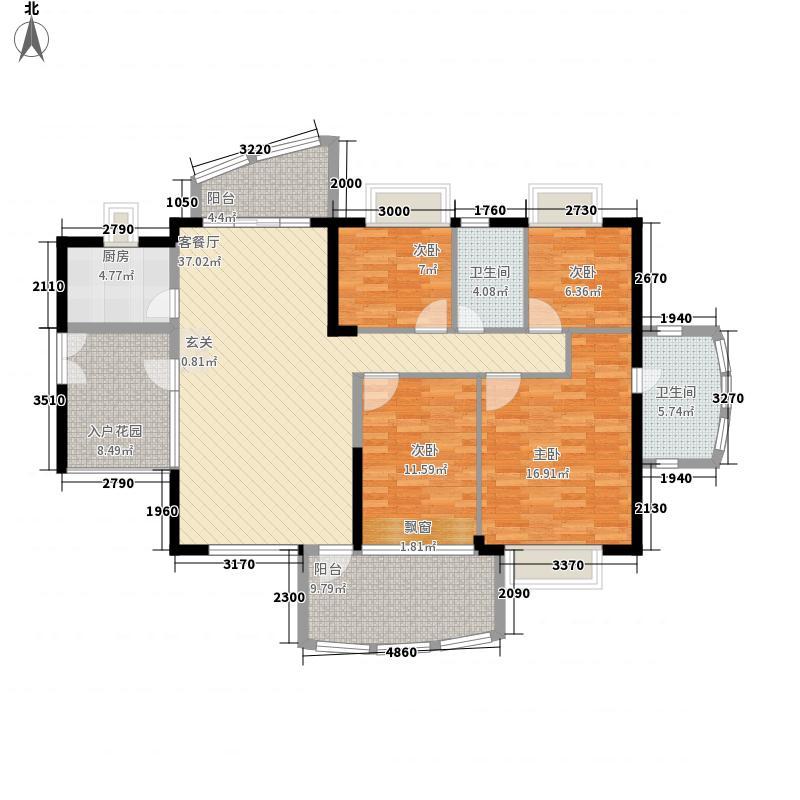 圣淘沙骏园139.87㎡深圳圣淘沙骏园户型图40户型10室