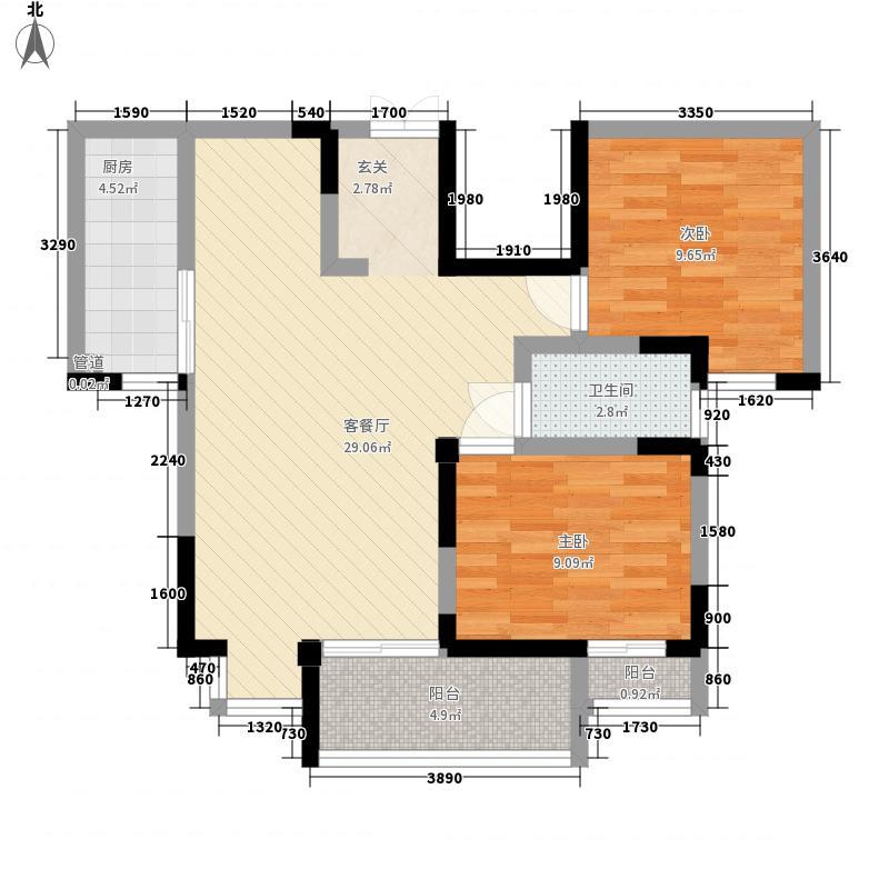 拓天万福家园拓天万福家园户型图5-42室2厅1卫1厨户型2室2厅1卫1厨