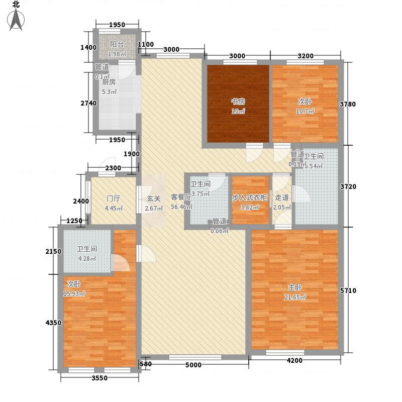半湾半岛一期平墅27#42#楼二层平面图户型