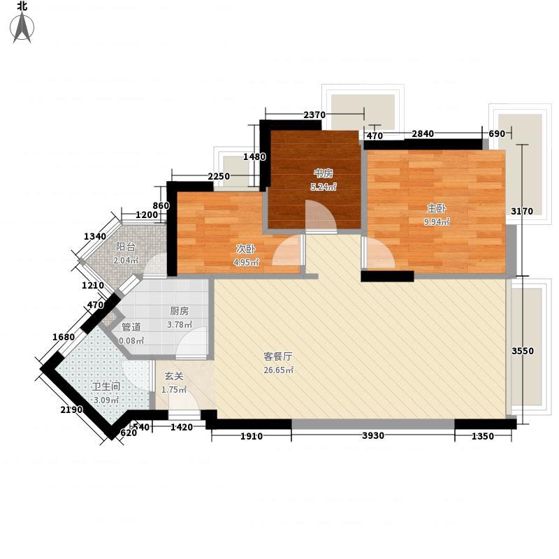 现代城梦想家园户型