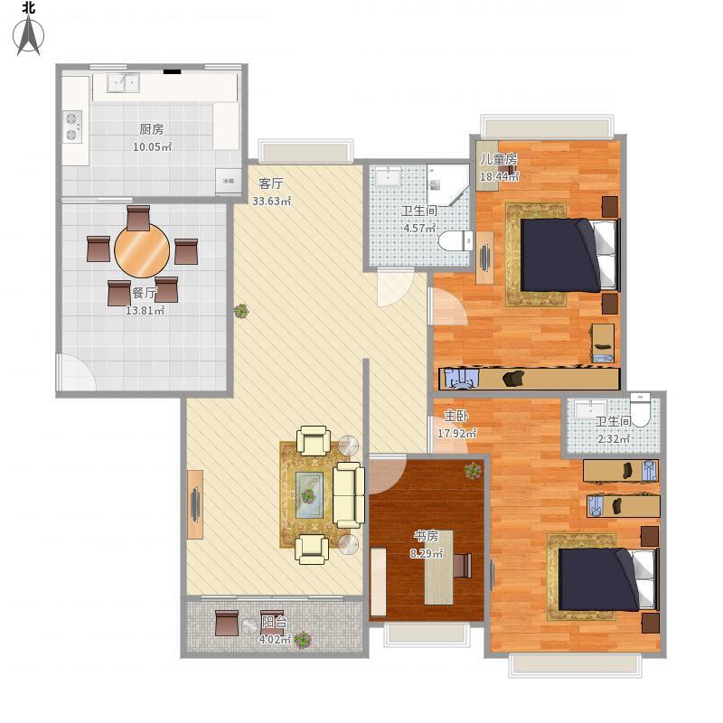 289房6房3厅2
