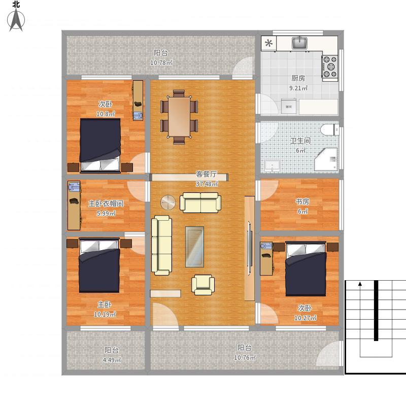 方案2——2楼