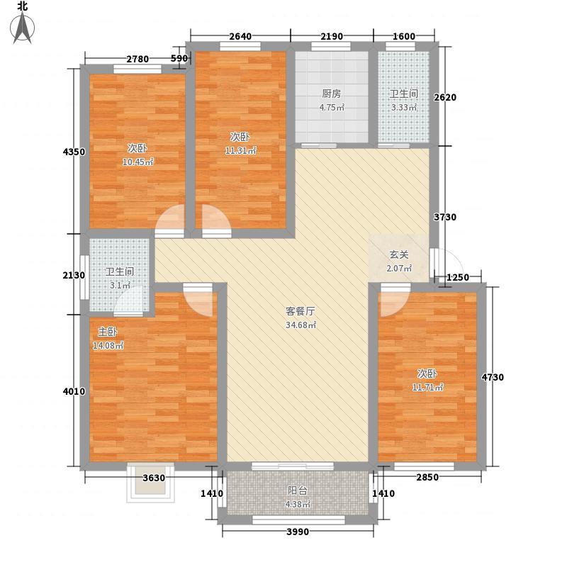 黄河明珠黄河明珠E户型户型10室