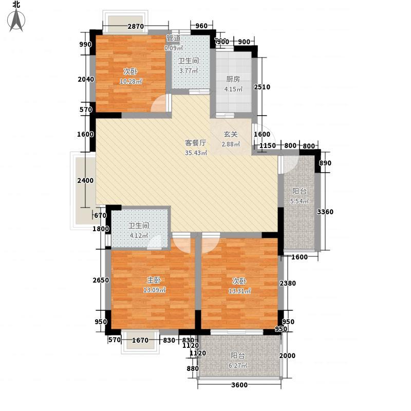 华泰小区4户型3室2厅2卫1厨