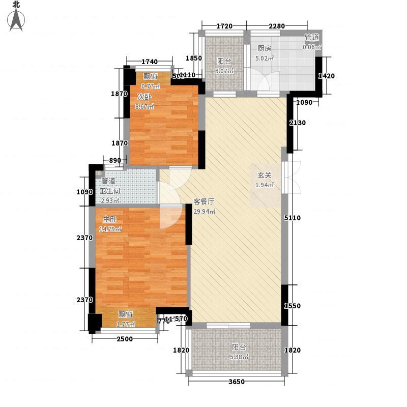 汇银奥林匹克花园100.00㎡奥林匹克花园3室户型3室