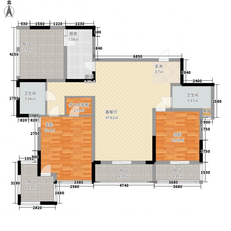 万科华庭万科华庭户型图2室2厅户型图2室2厅2卫1厨户型2室2厅2卫1厨