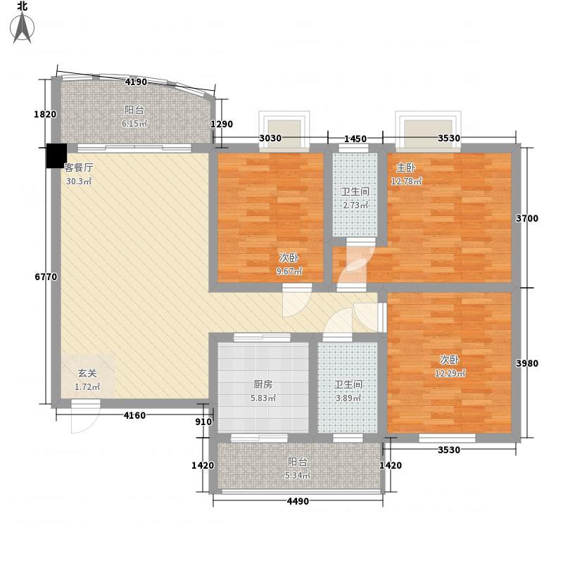 丹霞新城118.00㎡丹霞新城G1户型3室2厅2卫1厨118.00㎡户型3室2厅2卫1厨