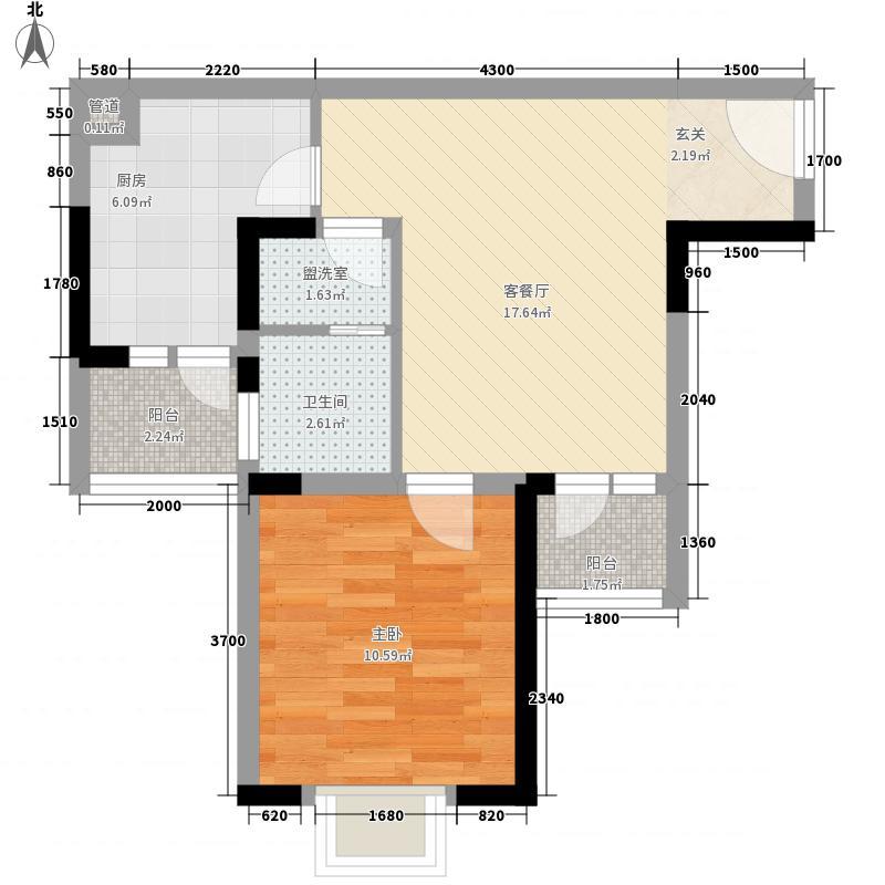 金舍嘉苑户型1室