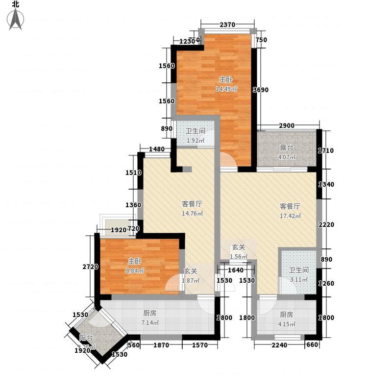 成都A区110.00㎡110平米户型10室
