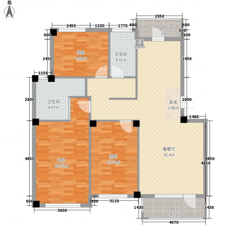 怡馨佳苑怡馨佳苑3室户型3室