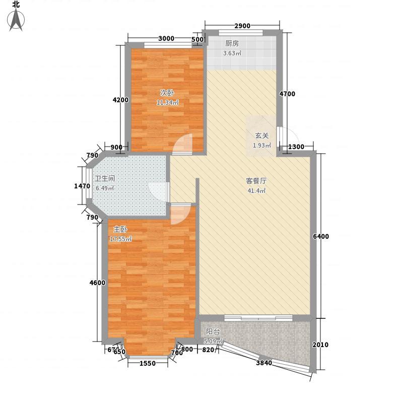 台湾村178.00㎡户型4室