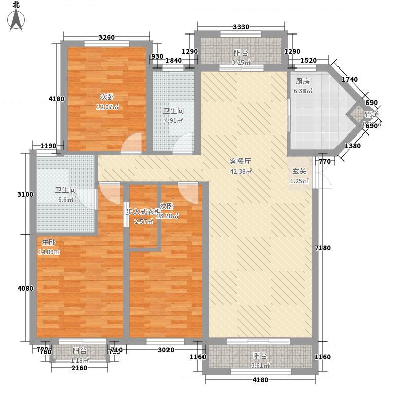 天元奥林商务公寓4户型