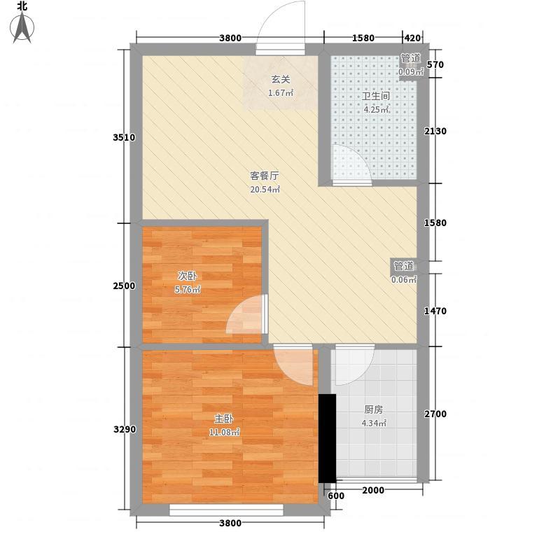 中兴・和园高层A1户型