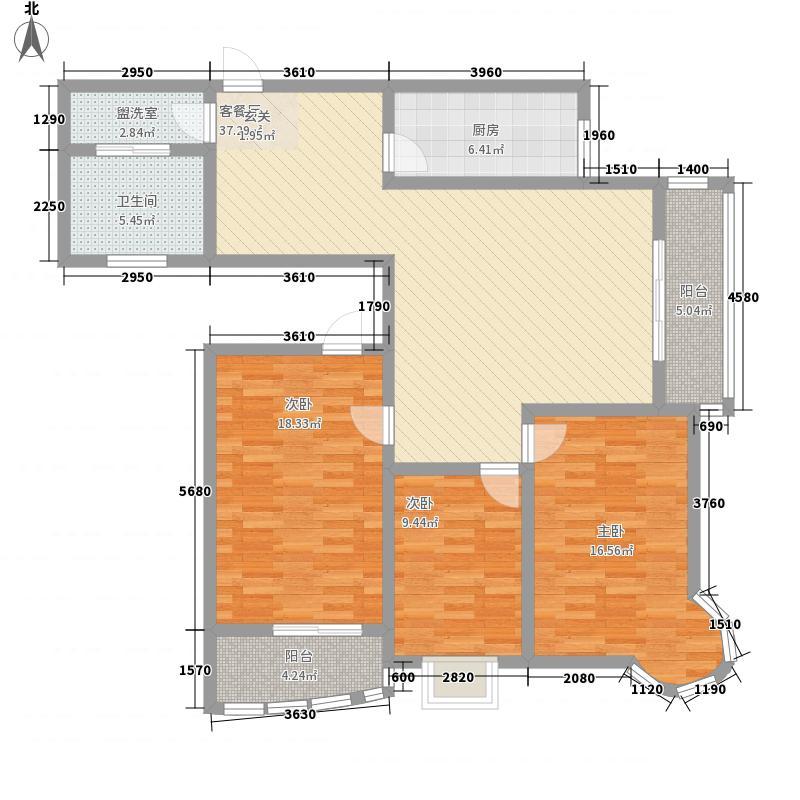 龙悦湾三期151.76㎡龙悦湾三期f3室2厅1卫1厨151.76㎡户型3室2厅1卫1厨