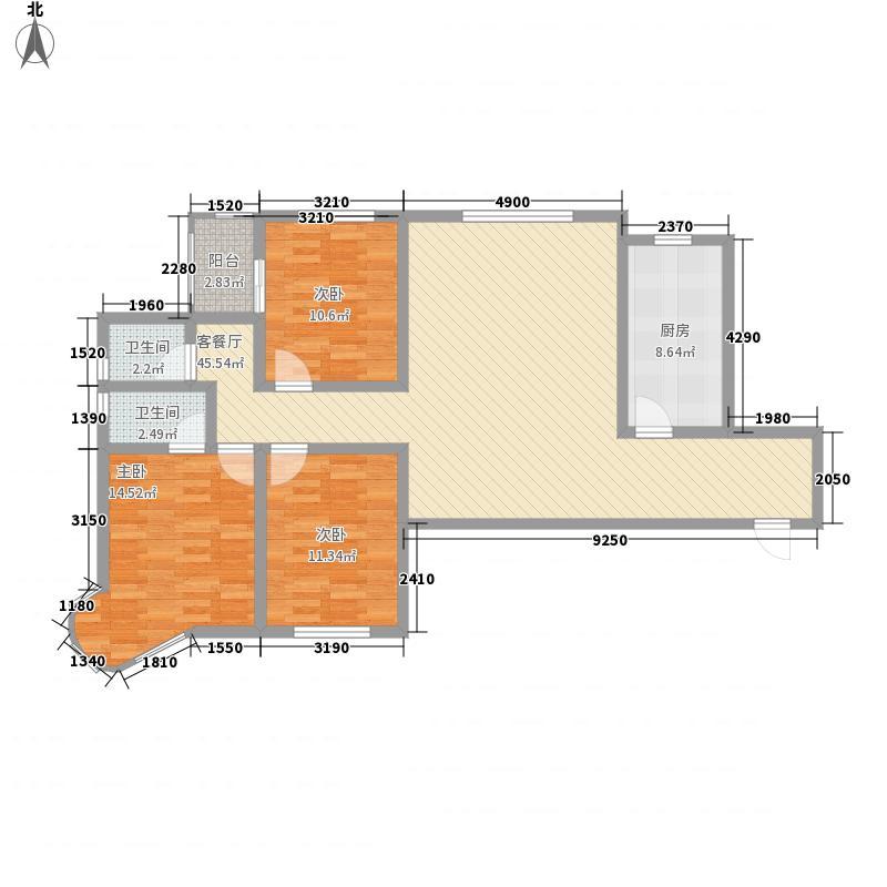 龙悦湾三期140.41㎡龙悦湾三期a3室2厅2卫1厨140.41㎡户型3室2厅2卫1厨