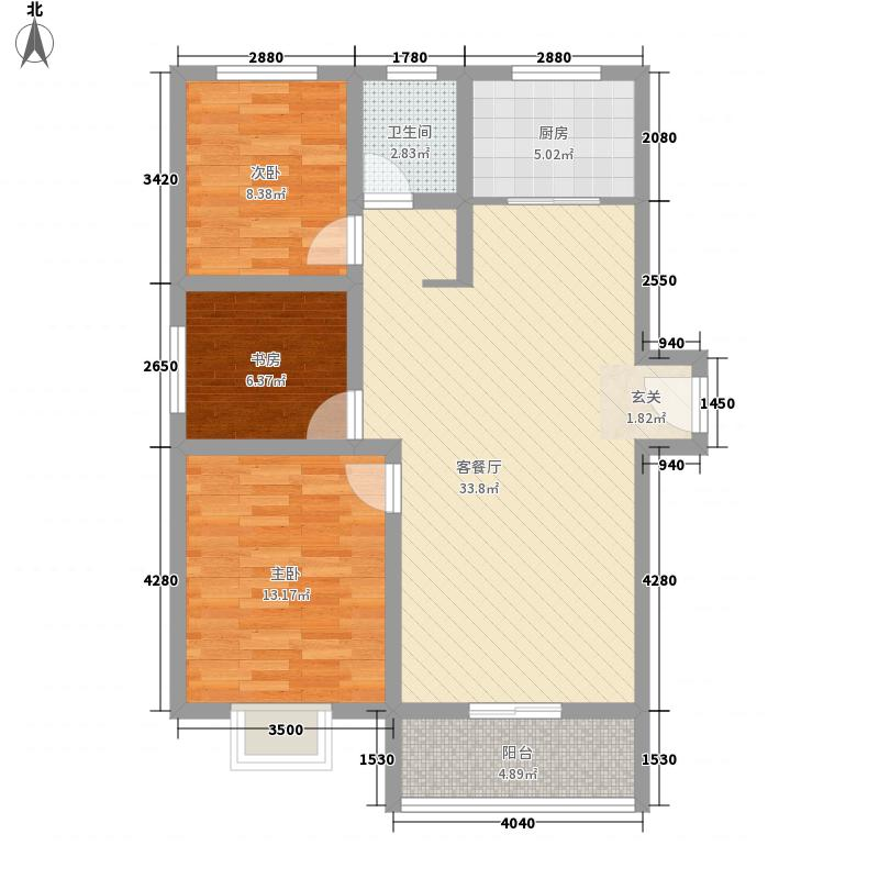 三杰盛世城107.13㎡三杰盛世城G1户型3室2厅1卫1厨107.13㎡户型3室2厅1卫1厨