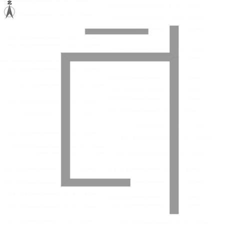 东方威尼斯88.00㎡户型图