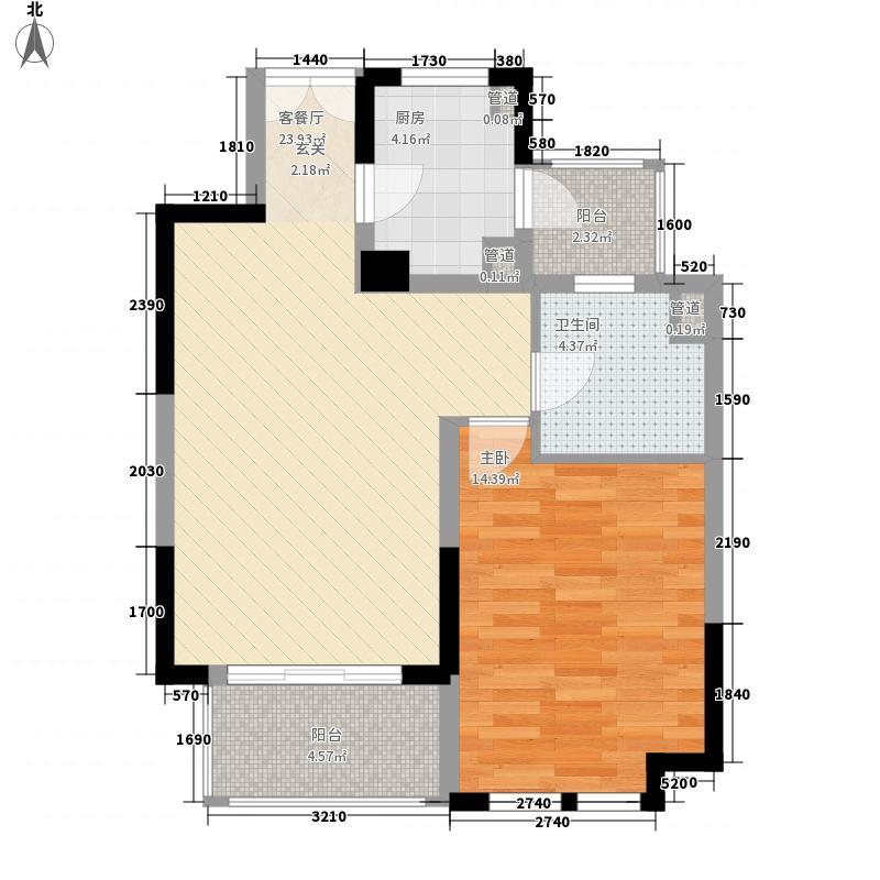 美菱新村户型1室