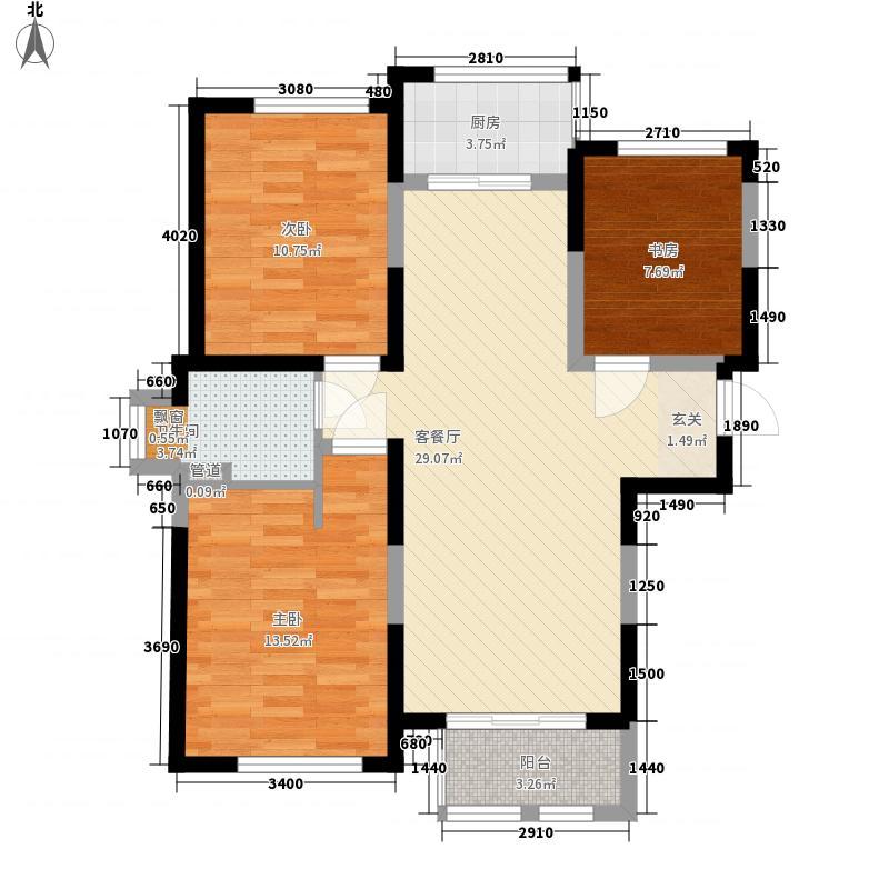 龙湖郦城104.00㎡龙湖郦城户型图G户型2室2厅1卫1厨户型2室2厅1卫1厨