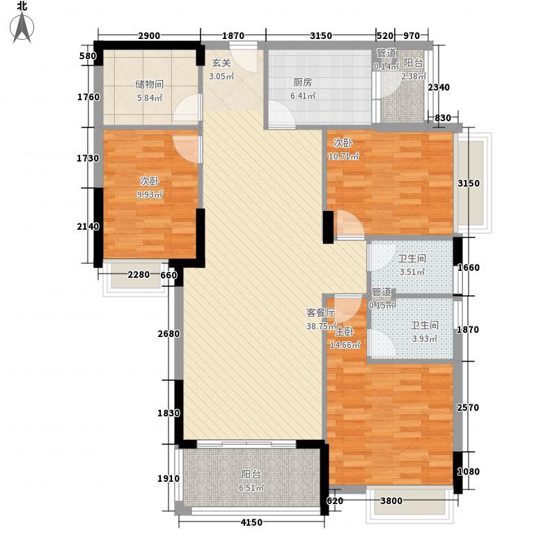 楼下新村120.00㎡楼下新村3室户型3室