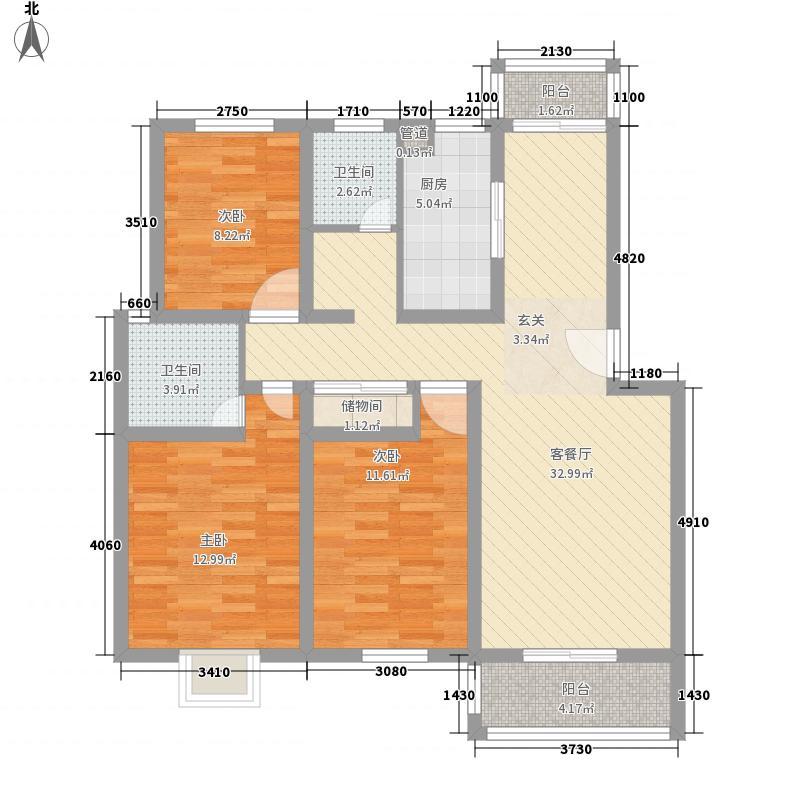煤炭设计院宿舍88.00㎡煤炭设计院宿舍3室户型3室