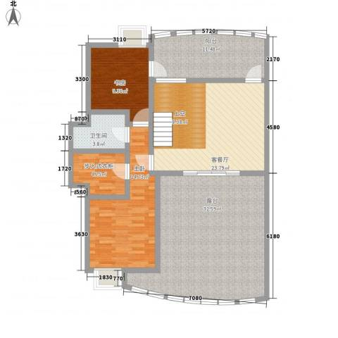 桃源居2室1厅1卫0厨100.49㎡户型图