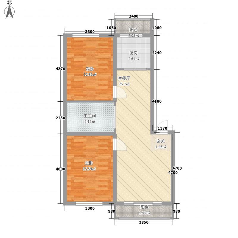 海韵园188.00㎡户型4室2厅2卫2厨