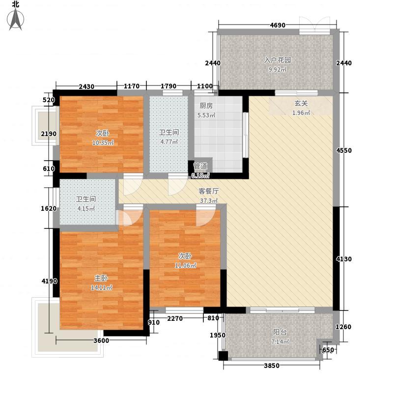 南阳路209号院8.00㎡拖拉机厂家属院户型3室