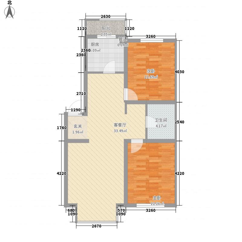 里仁居85.21㎡里仁居户型图户型图2室2室2厅1卫户型2室2厅1卫