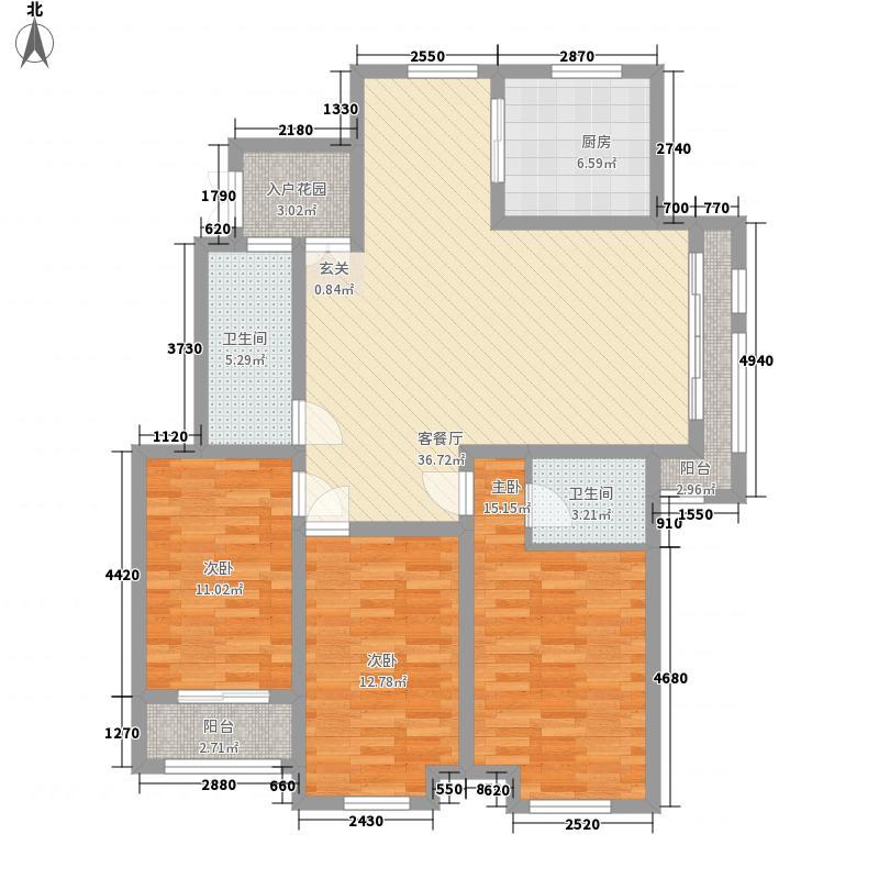 易安明郡146.00㎡易安明郡户型图11#L户型3室2厅2卫1厨户型3室2厅2卫1厨