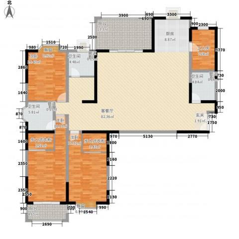 大舜天成3室1厅3卫0厨226.00㎡户型图