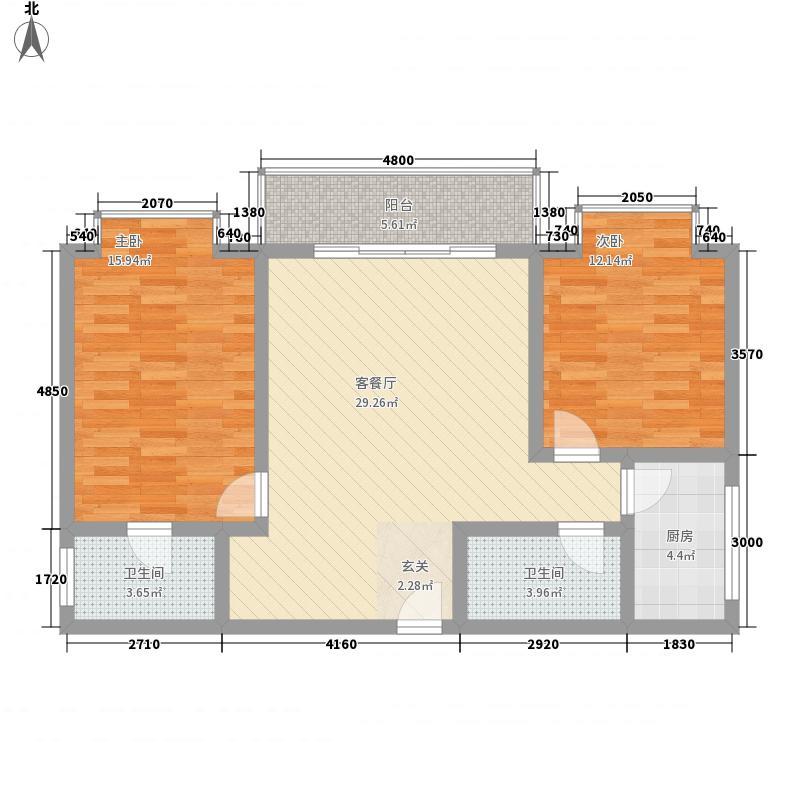 海龙山福15.00㎡户型9室