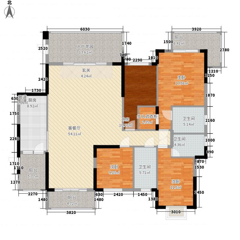 金水岸9栋01户型4室2厅2卫1厨