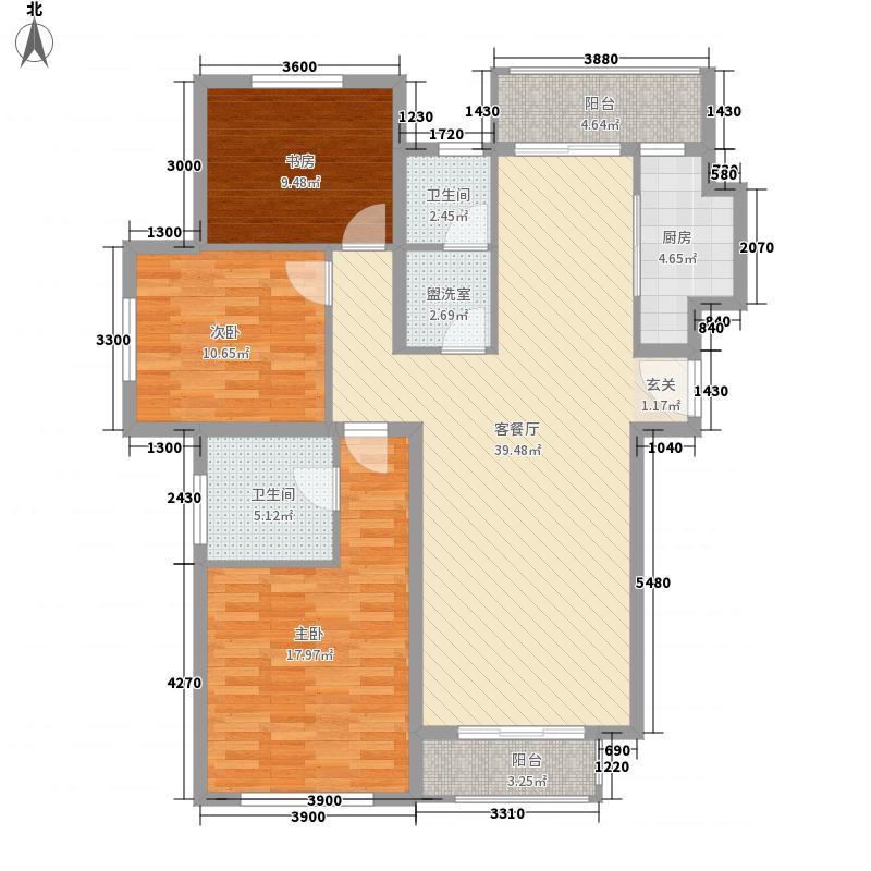矽谷港湾知本家公寓标准层A1户型