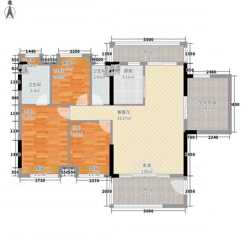 怡翠馨园115.00㎡怡翠馨园户型图7/8座01单位4室2厅2卫1厨户型4室2厅2卫1厨