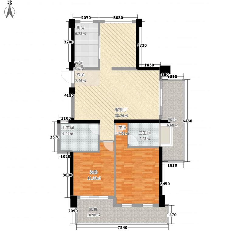 中联城203.00㎡203平米户型4室3厅3卫1厨