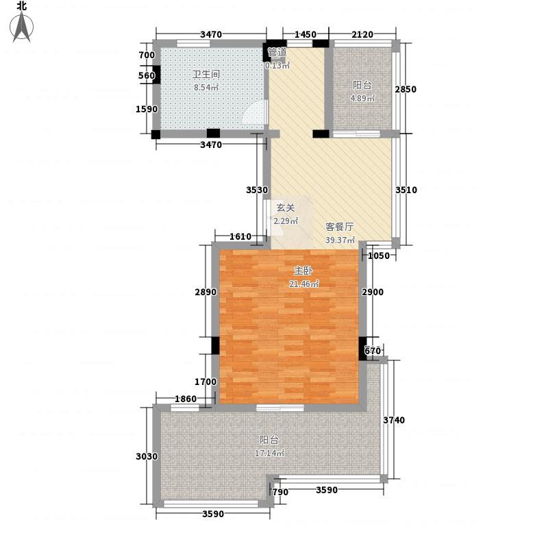 新建北村4户型2室1厅1卫1厨