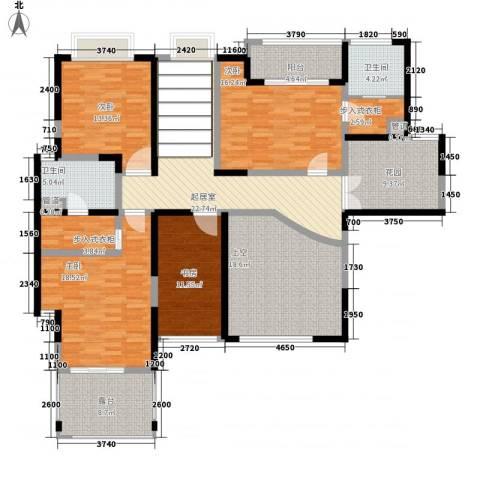 天润碧海湾4室0厅2卫0厨328.00㎡户型图