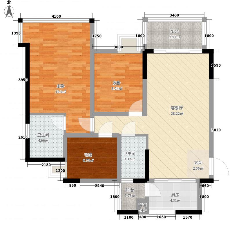 棕榈四季1栋0户型3室2厅2卫1厨