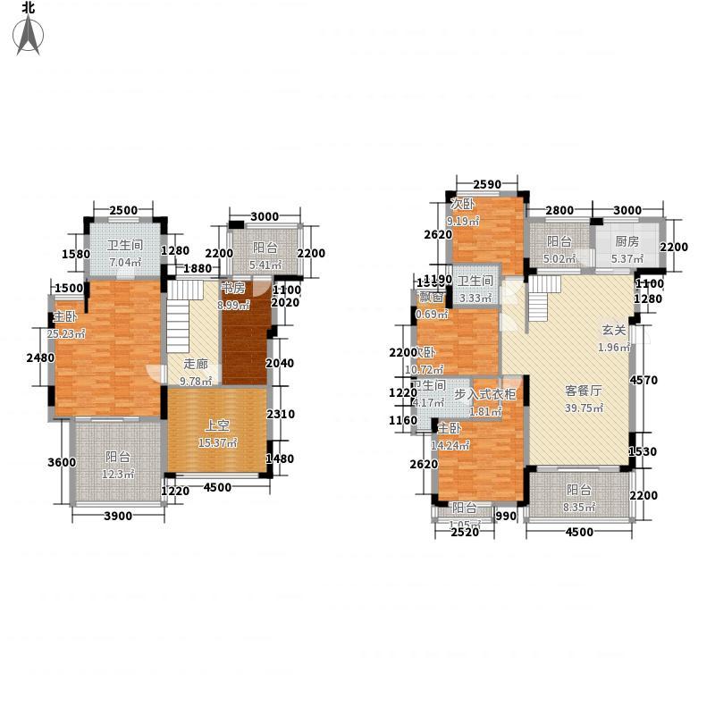 太阳湾178.50㎡太阳湾2期五房户型10室