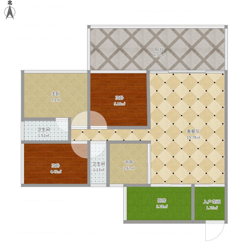 泰华阳光海3+1房