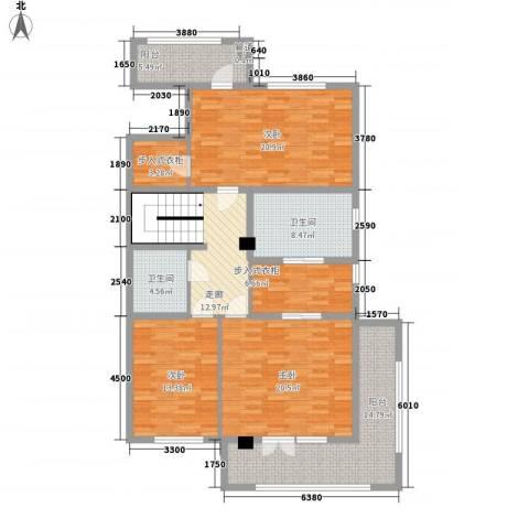 中环新天地3室0厅2卫0厨160.00㎡户型图